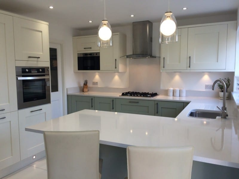 Mr & Mrs Kelly, kitchen in Horwich