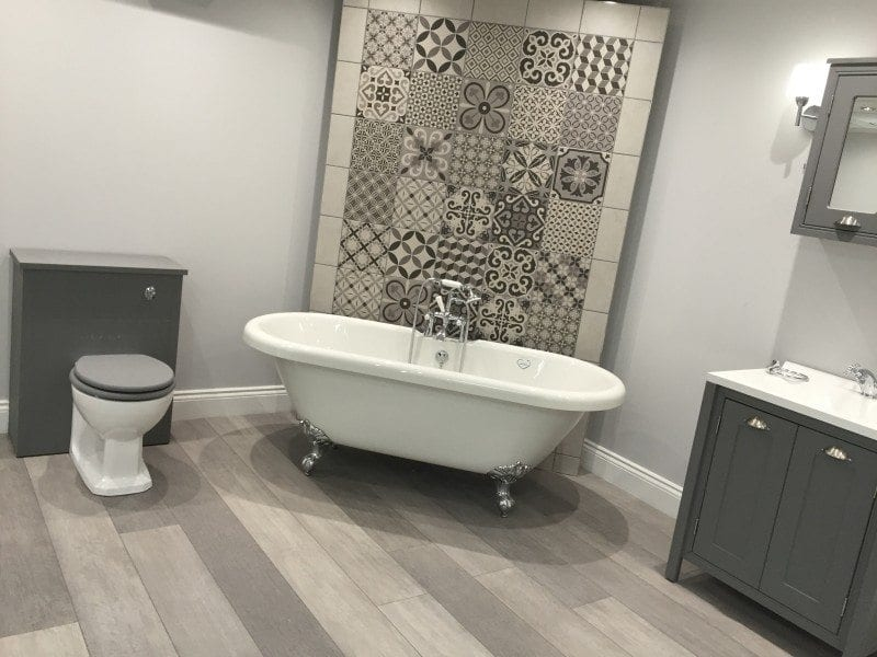 New bathroom showroom for PJH Group HQ