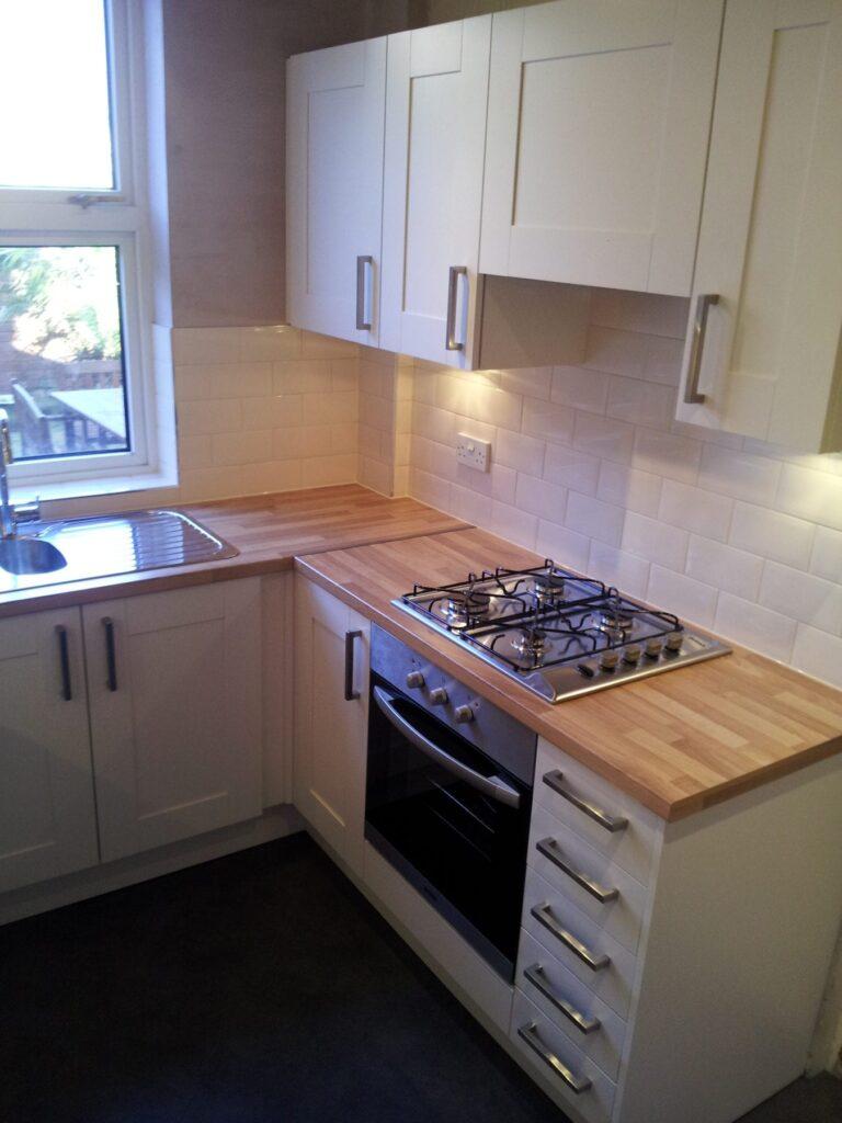 Small kitchen transformation in Heaton, Bolton!