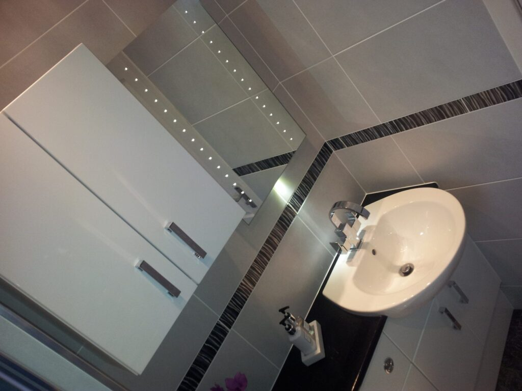 Mr & Mrs Hall, bathroom in Bolton