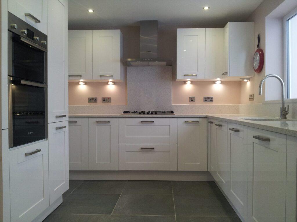 Stockholm kitchen supplied & installed…..