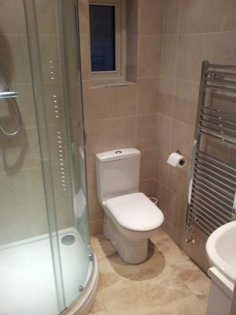 En-suite completed in Bromley Cross, Bolton