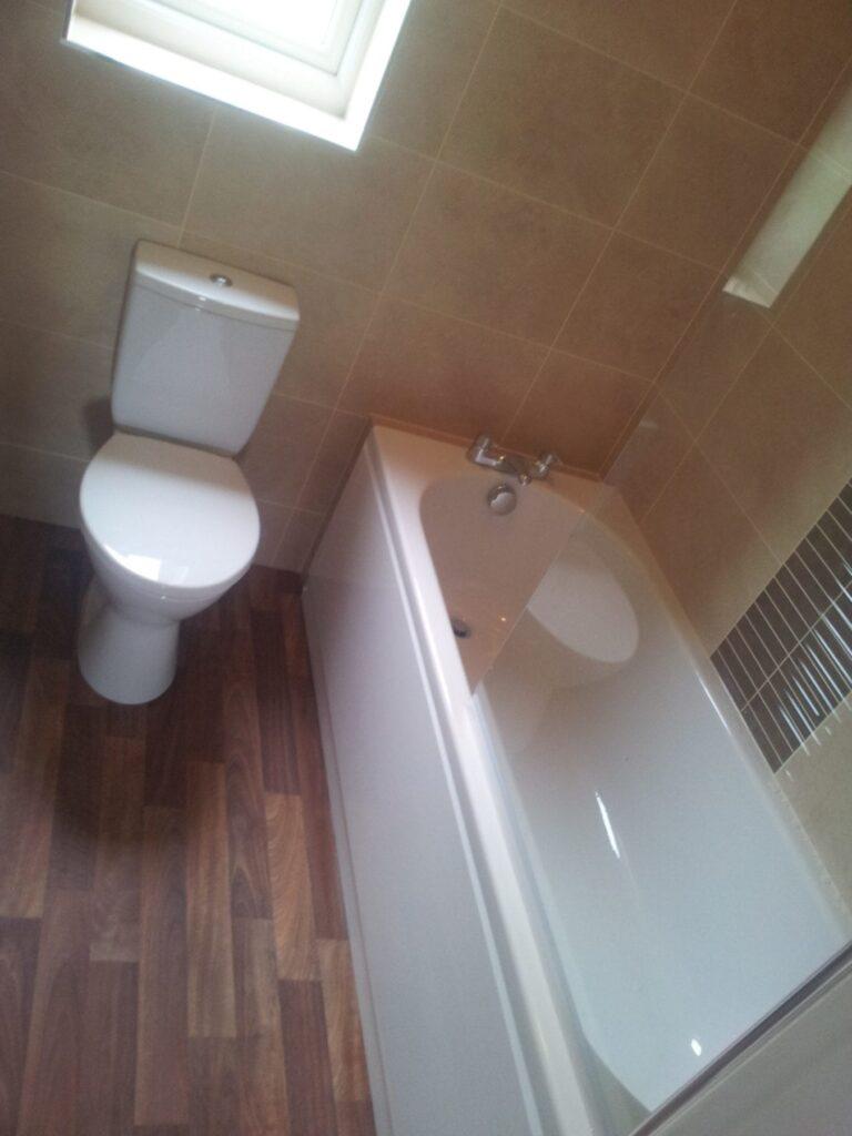 Mr Grant, bathroom in Bolton