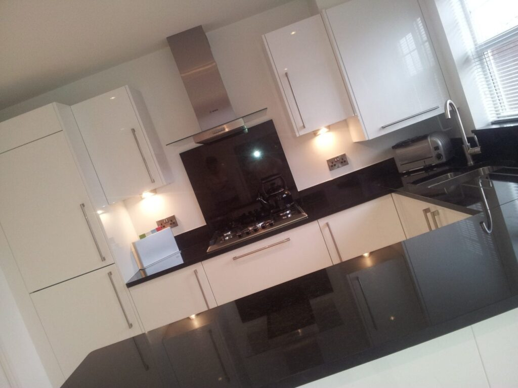 Mr & Mrs Berry, kitchen in Bury