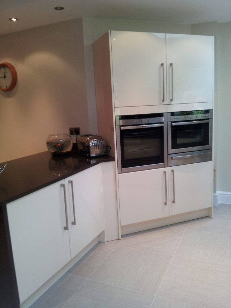 Mr & Mrs Fletcher, kitchen in Egerton