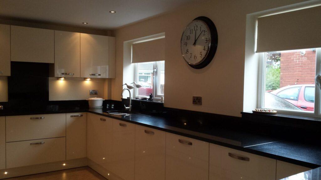 Mr & Mrs Ball, kitchen in Kearsley