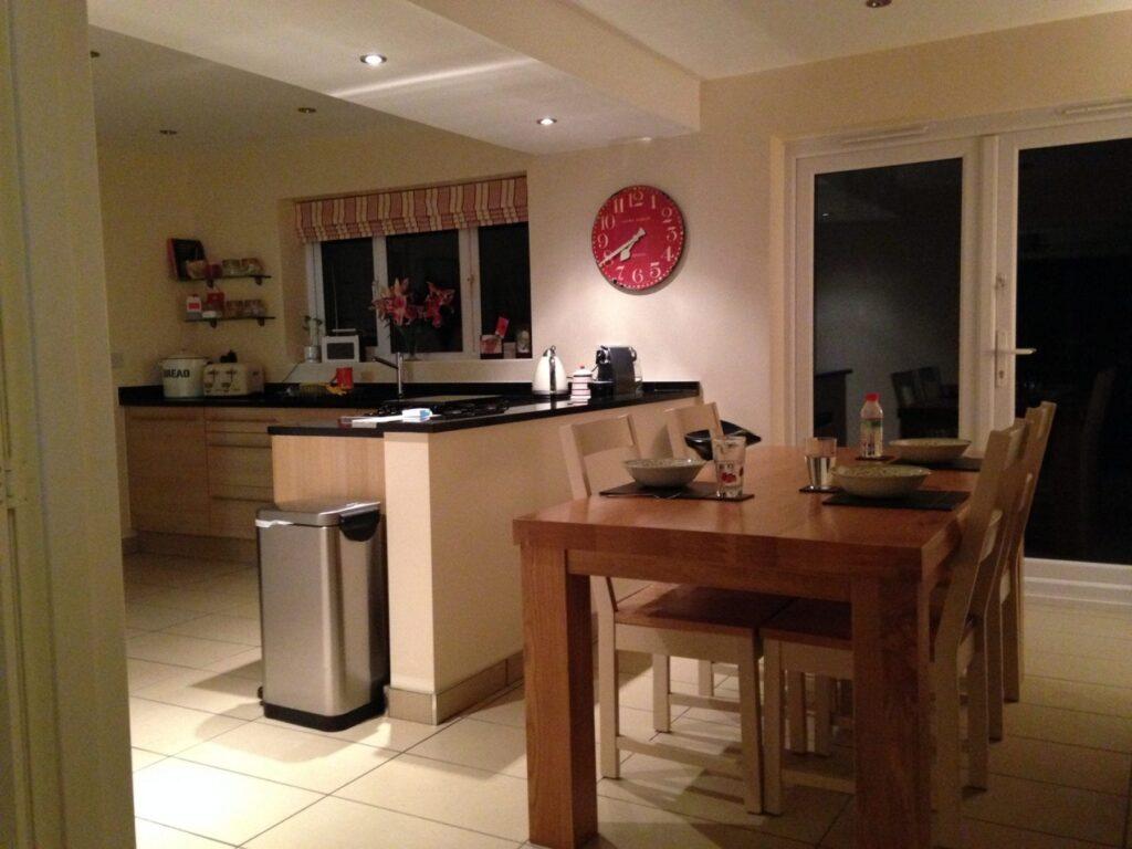 Internal Knock Through Between Kitchen And Dining Room: Mr & Mrs Shuttleworth, Kitchen Knock-through, Lostock