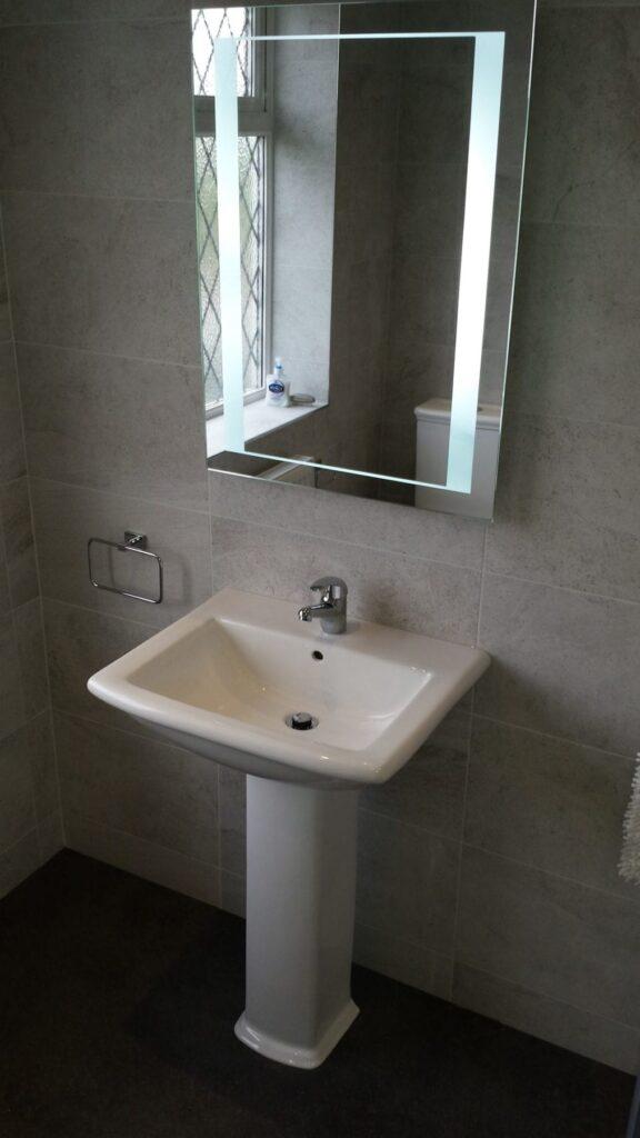 Mr & Mrs Clappison, bathroom in Sharples