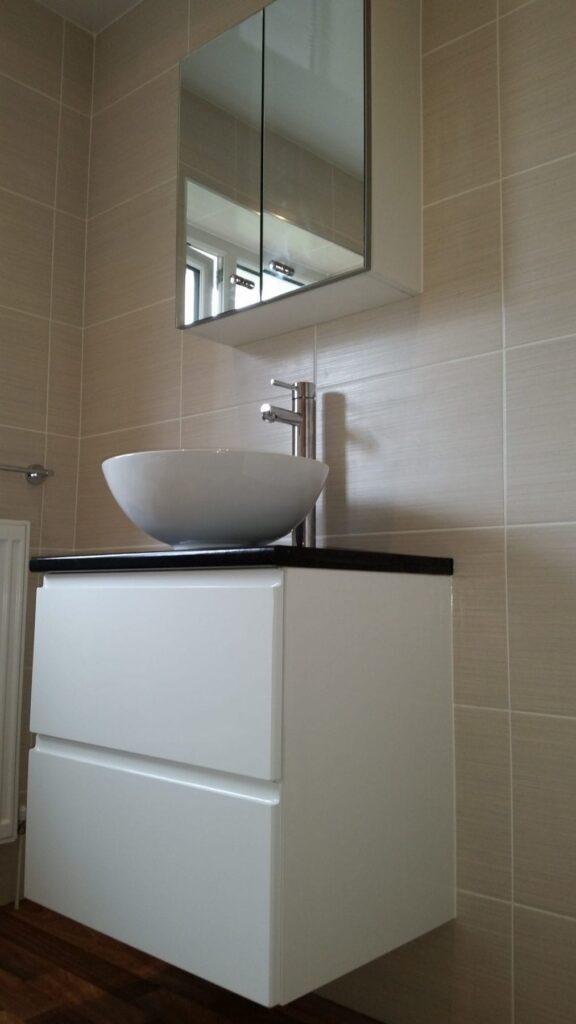 Mr & Mrs Rothwell, bathroom in Turton, Bolton