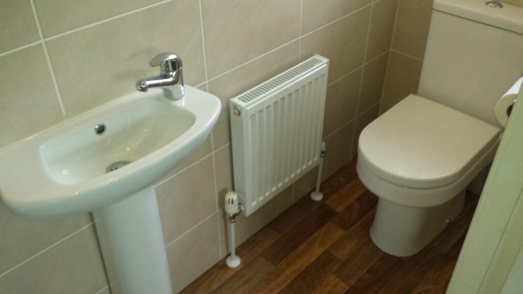 Mr & Mrs Fisk, en-suite bathroom in Horwich
