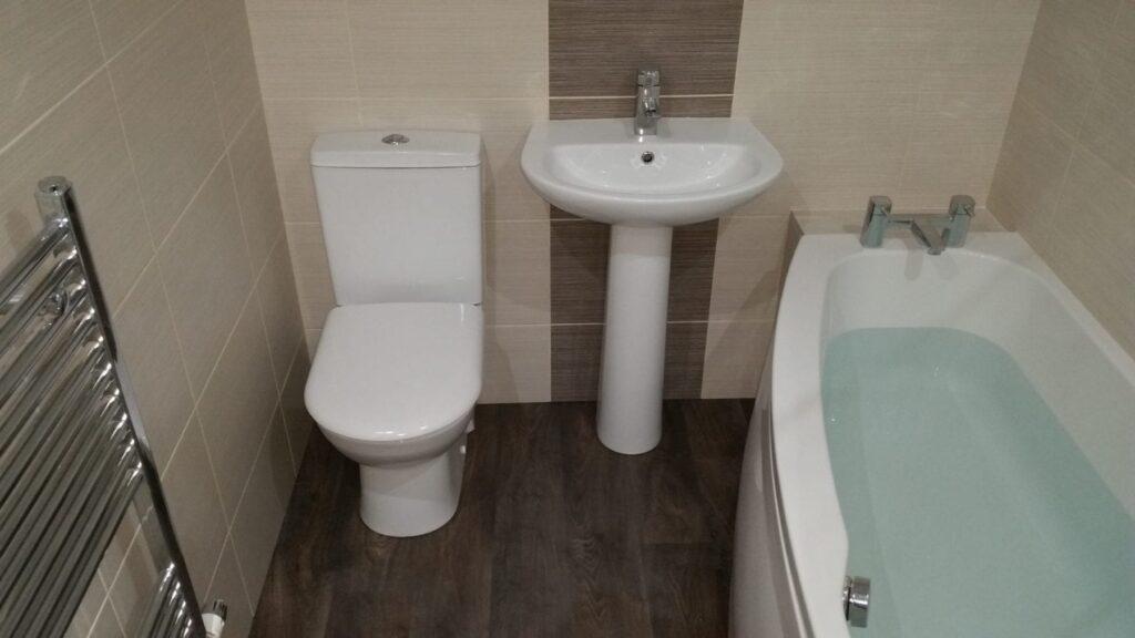 Mr Hornby, bathroom in Chorley