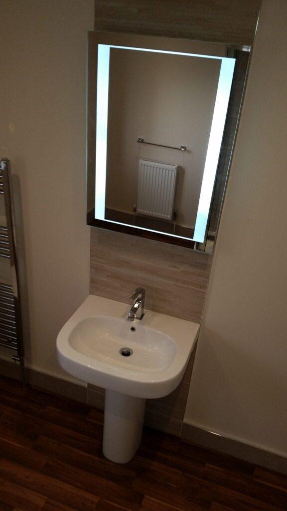 Mr & Mrs Paisley, bathroom in Heaton