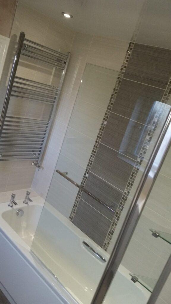 Mr & Mrs Parks, bathroom in Bolton