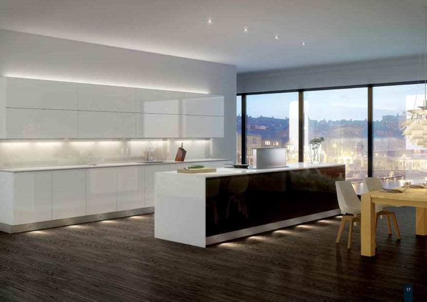 The importance of kitchen lighting…..