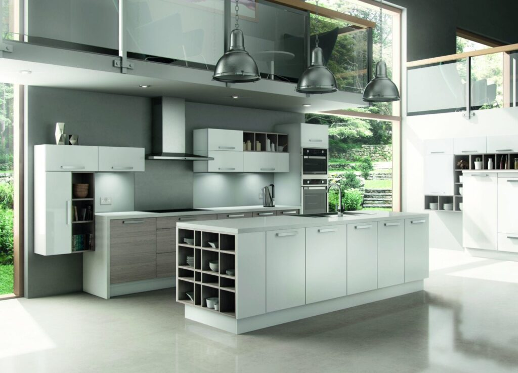On trend kitchens….