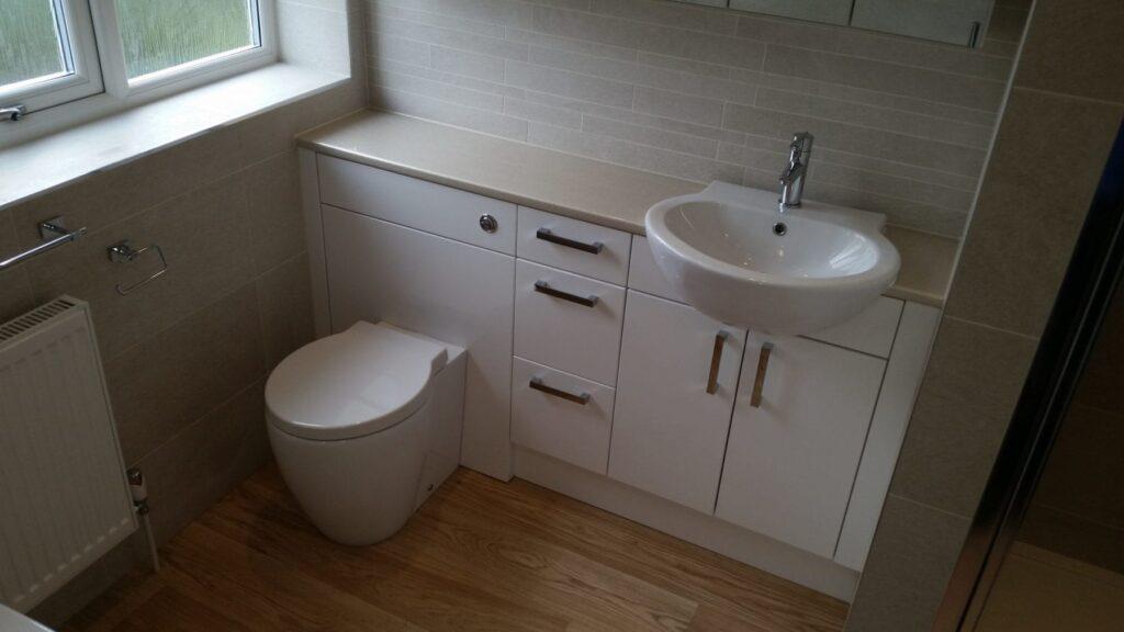 Mr & Mrs Foy, bathroom in Lostock