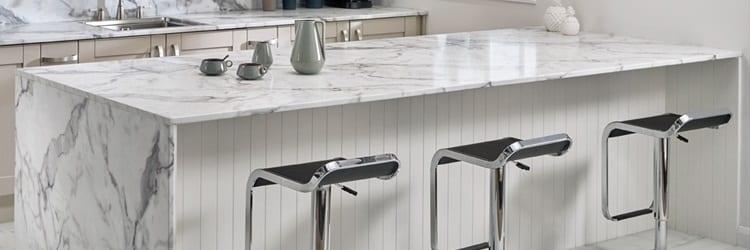Bushboard's new 22mm slimline laminate worktop