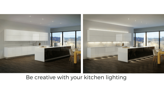 Sensio lighting solutions for your kitchen Bathrooms and Kitchens