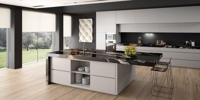 Sensa granite by Consentino at Oldfield Bathrooms & Kitchens