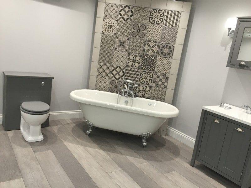 New bathroom showroom for PJH Group HQ
