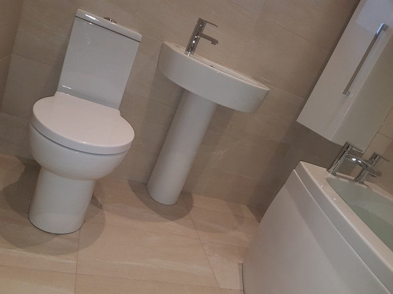 Bathroom in Bromley Cross, Mr & Mrs Smith