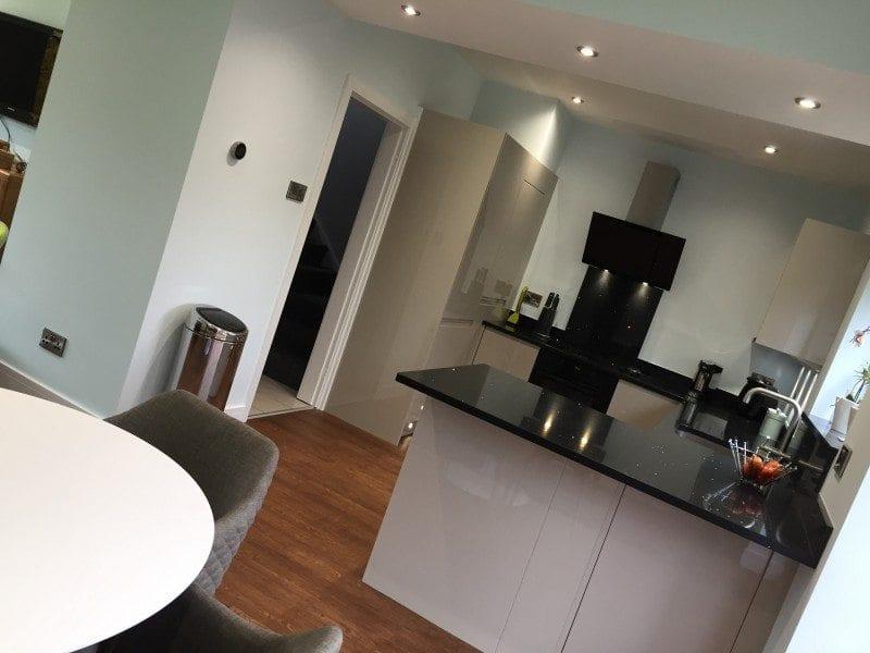 Mr & Mrs Girault, kitchen in Bolton